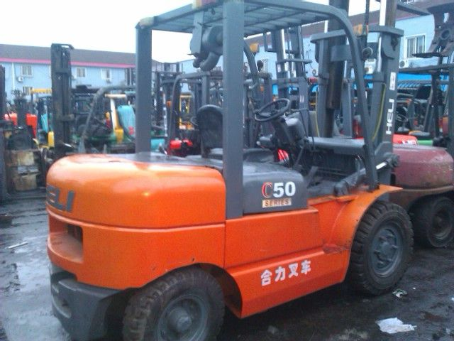 Used forklift 5ton Heli for Sale