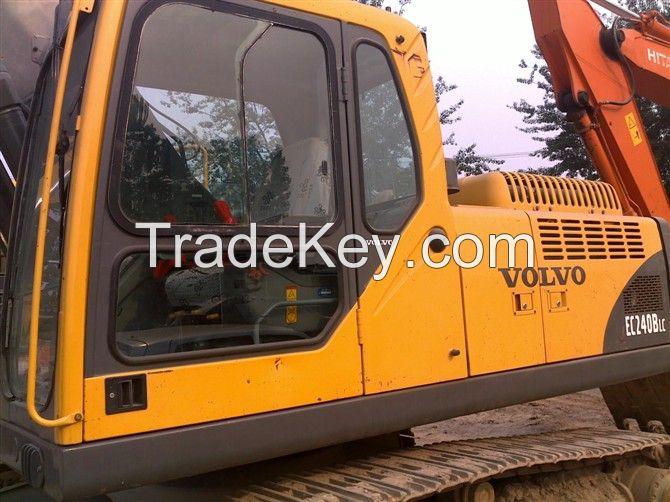 used Volvo excavator EC240BLC