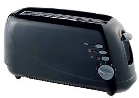 One slice cool touch hot sale toaster