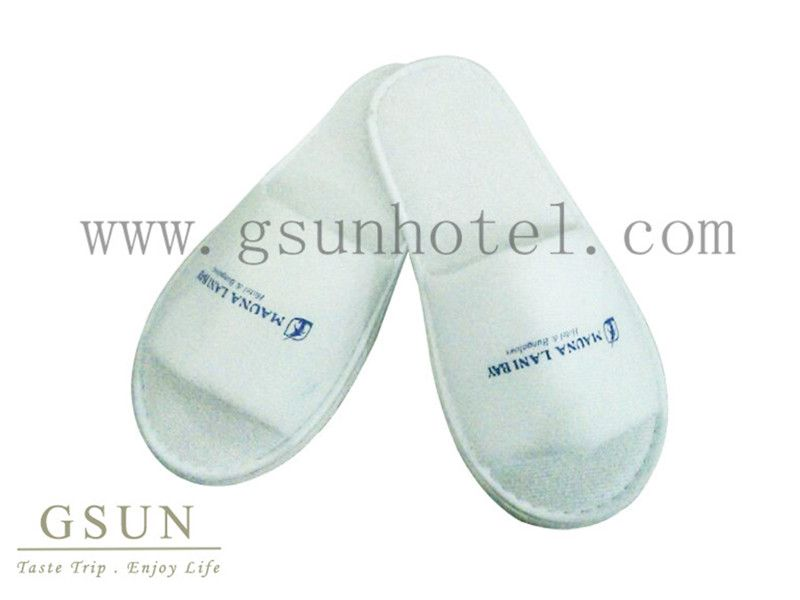 Hotel terry waffle  velour Slippers  disposable slippers cheap slippers