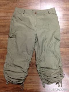 used adult cargo short pants