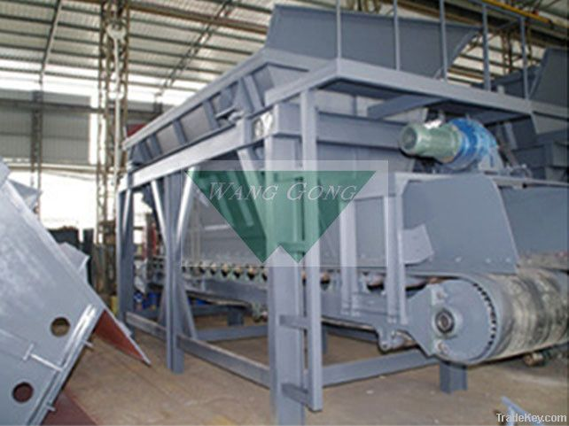 Mixer feeding scale machine