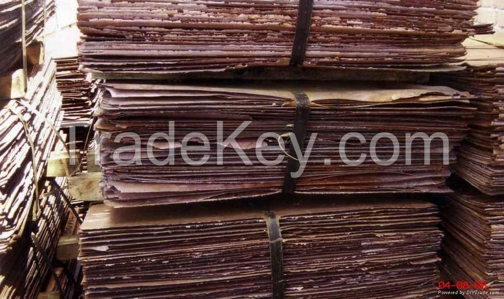 Copper Cathode 99.99% For Sale