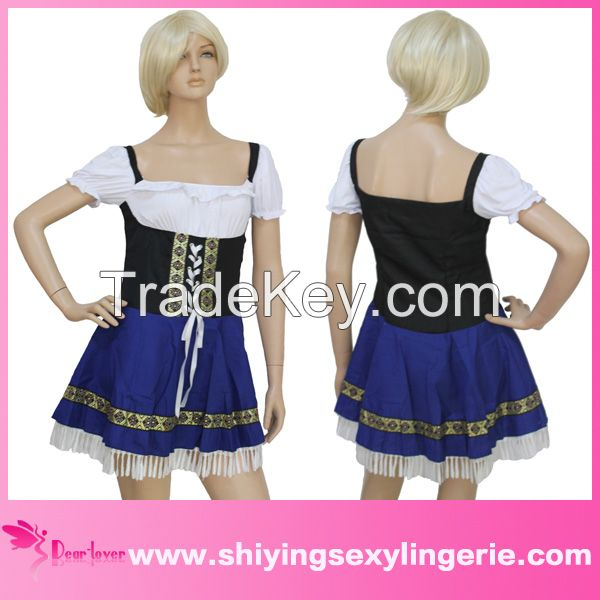 wholesale sexy country girl adult women serving wench costume