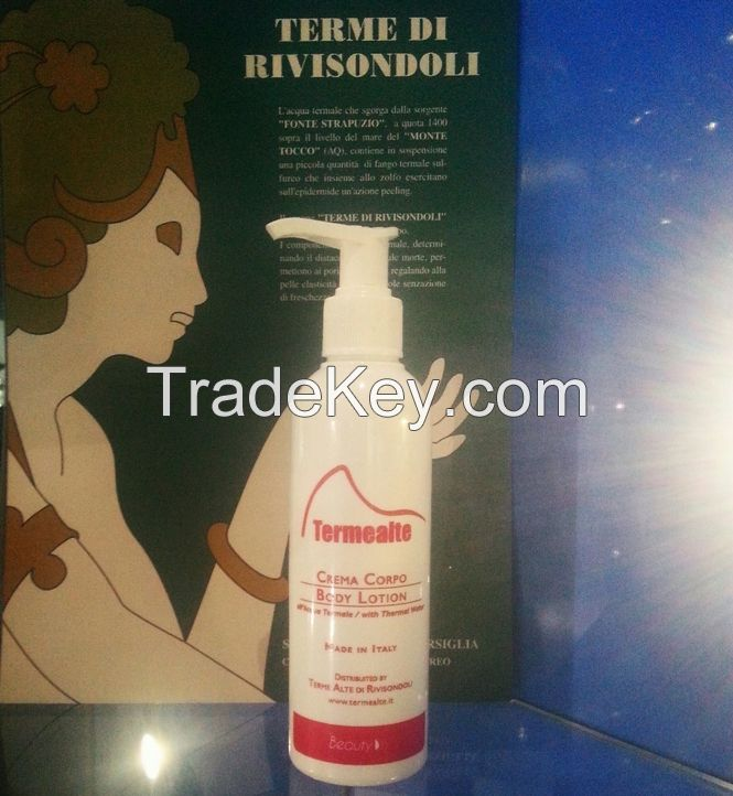 Body Lotion with Thermal water and Argan oil
