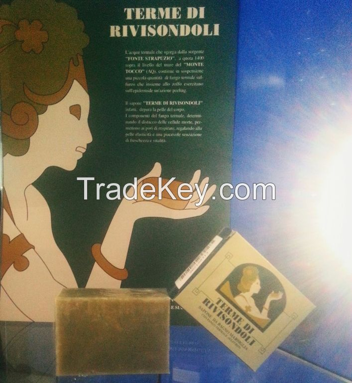 Soap with Thermal Mud for skin problems, Dernatitis, psoriasis