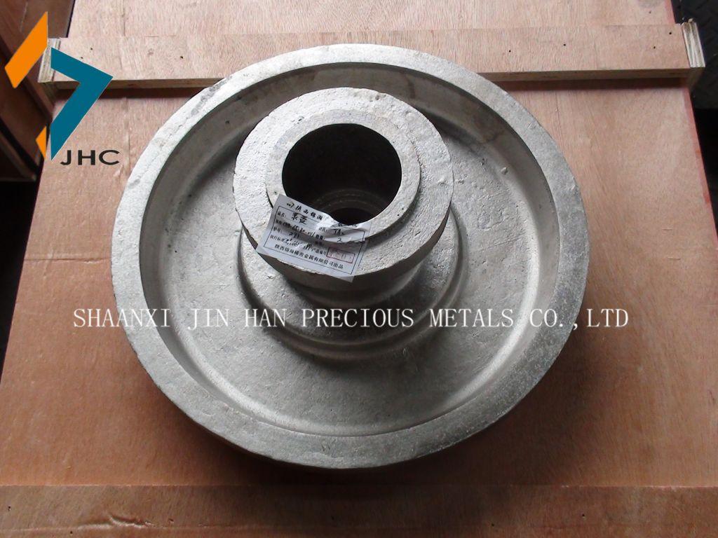 titanium pump casting