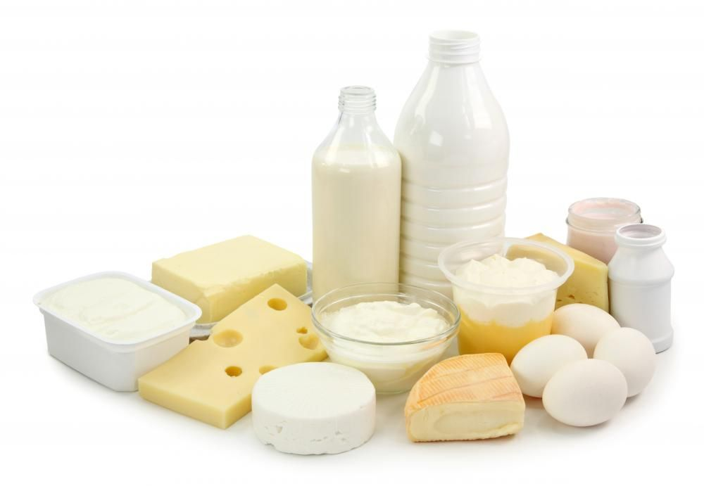 Dairy Products; powdered milk, infant milk, cheese, whey, buter