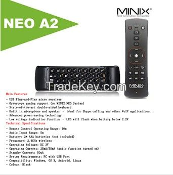 The new NEO A2 2.4G two-way voice keypad air flying squirrel