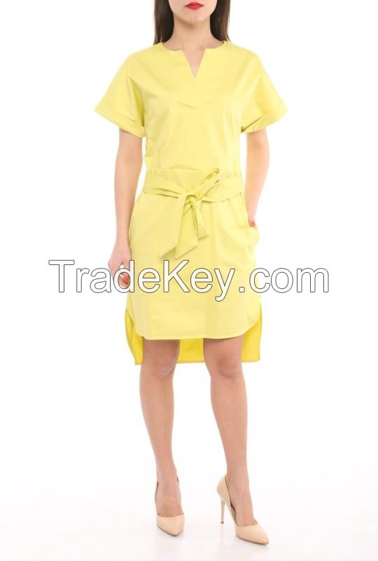 wholesale casual dresses in different colors made in Turkey