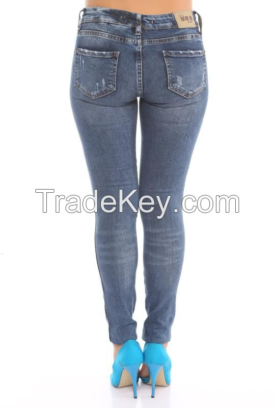 wholesale jeans for ladies autumn winter  2016 in Turkey
