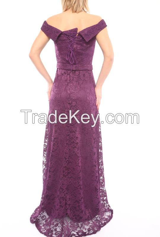 new collection lace evening dresses in Turkey