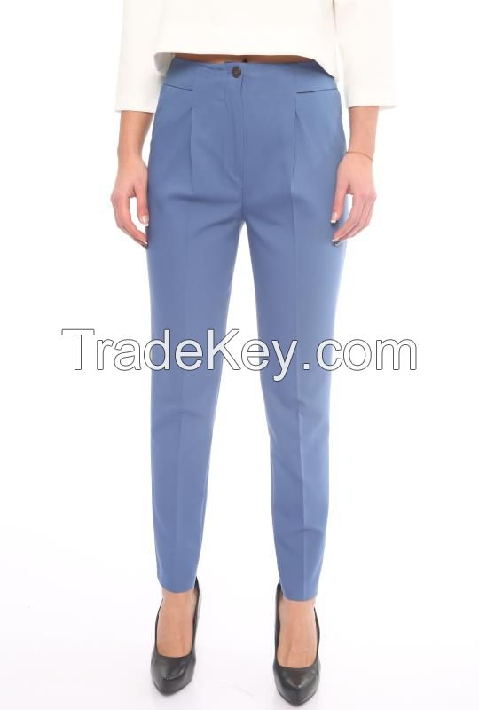 women office style trousers spring summer 2017 made in Turkey