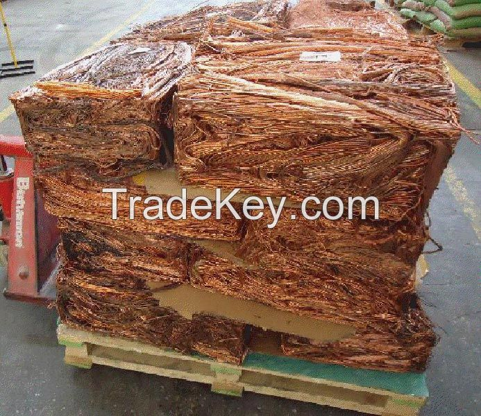 Copper Wire Scrap 99.9%/Millberry Copper Scrap 99.99%