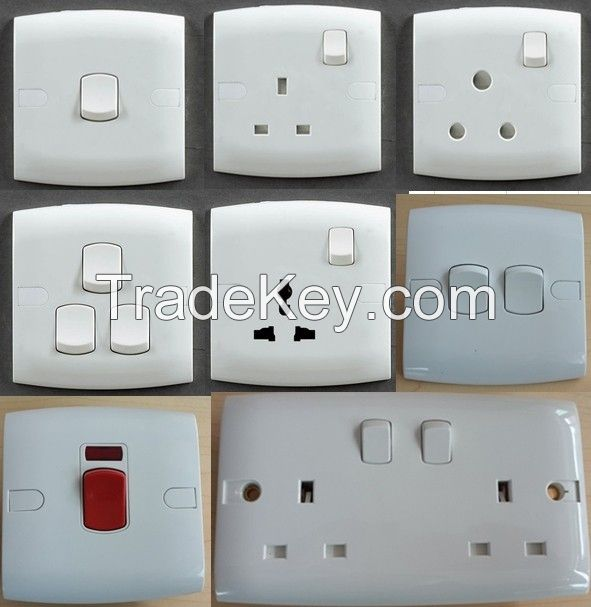 15A Switched Socket