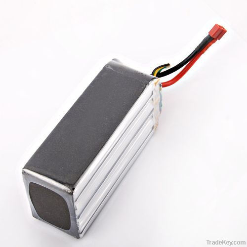RC model battery 5200mah 22.2v 65c for hobby toys