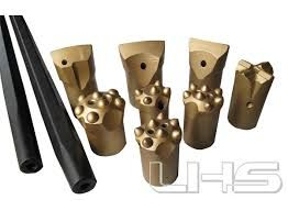tapered rock drilling tools