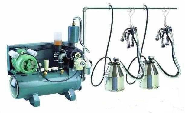 Pail-typed advanced milking machine