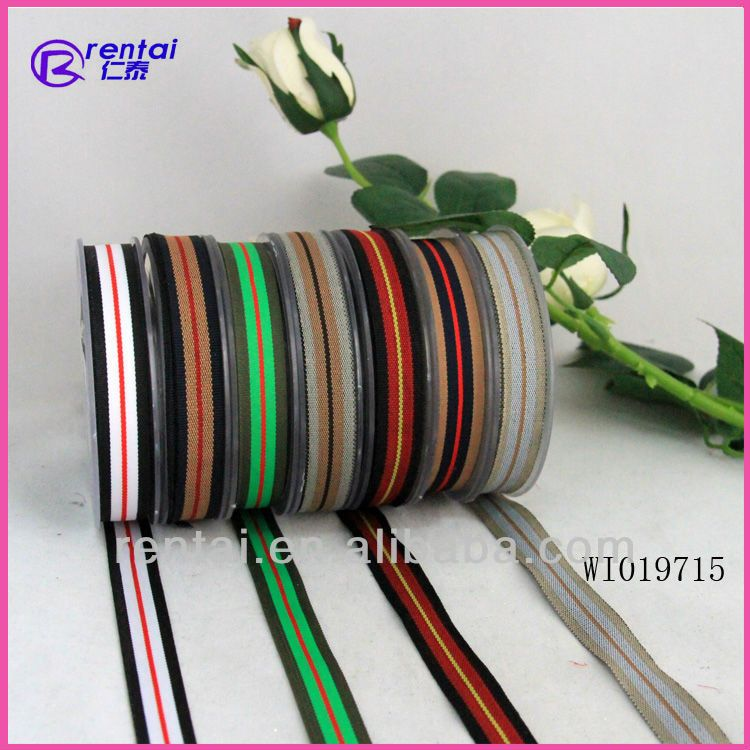 wholesale ribbon/celebrate it ribbon/stripe ribbon