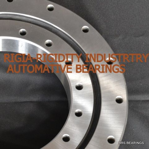time belt tooth(gear) slewing rings/radial axial bearing/black treatme