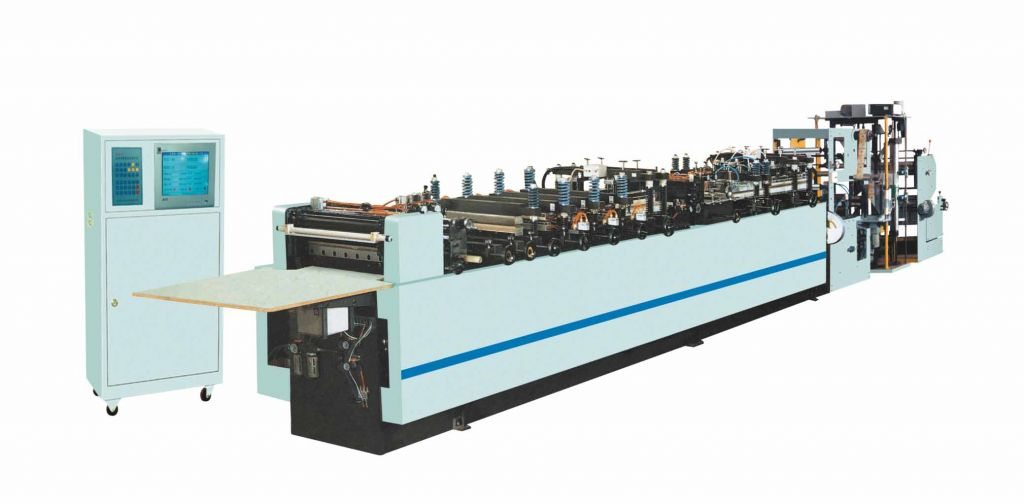 FBDA 400/500/600 economcal 3-side sealing bag making machine