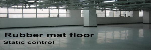 Plant Static dissipative floor finish