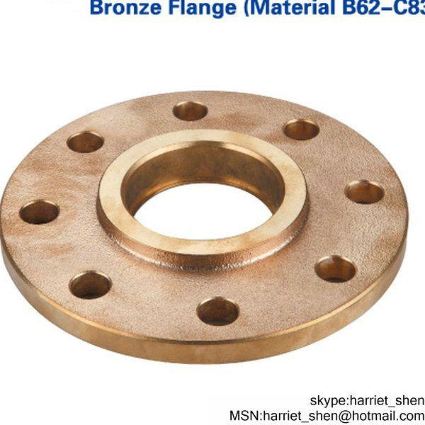 DN50 to DN150 Brass Screwed Flanges Aluminium Bronze Welding Flange