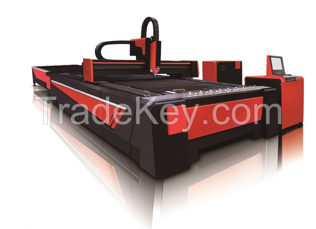 GZ2040T Fiber Laser Cutting Machine with exchange table