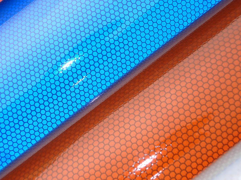 prismatic retro reflective sheeting