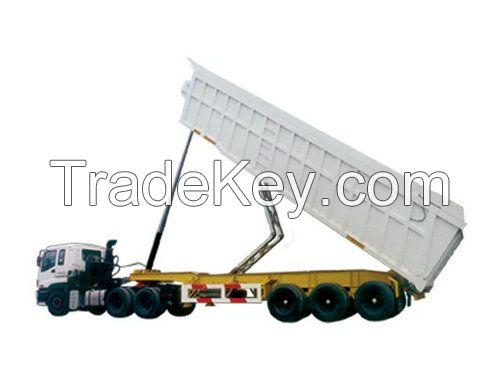Tipper semi-trailer