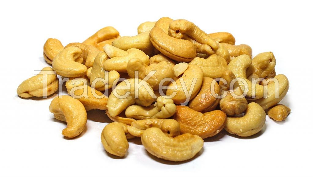 Certified Quality Well Cleaned Cashew Nut W240 W320 W450 for All Importers