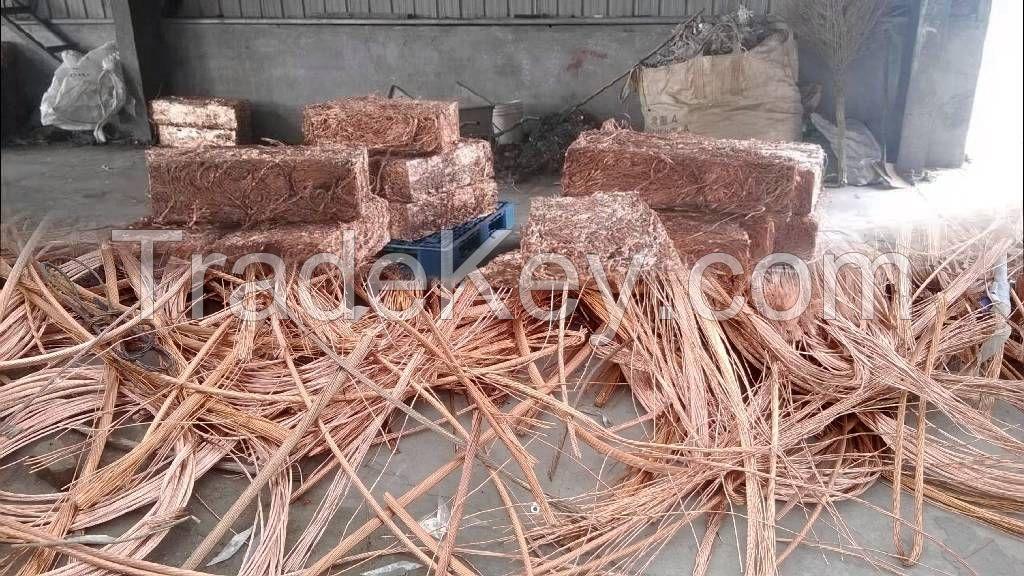 Copper Wire Scrap 99.99%