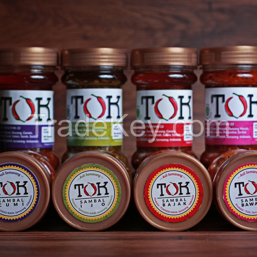 07  Dried Chili Sauce with Variants Flavor. Origin of Indonesia