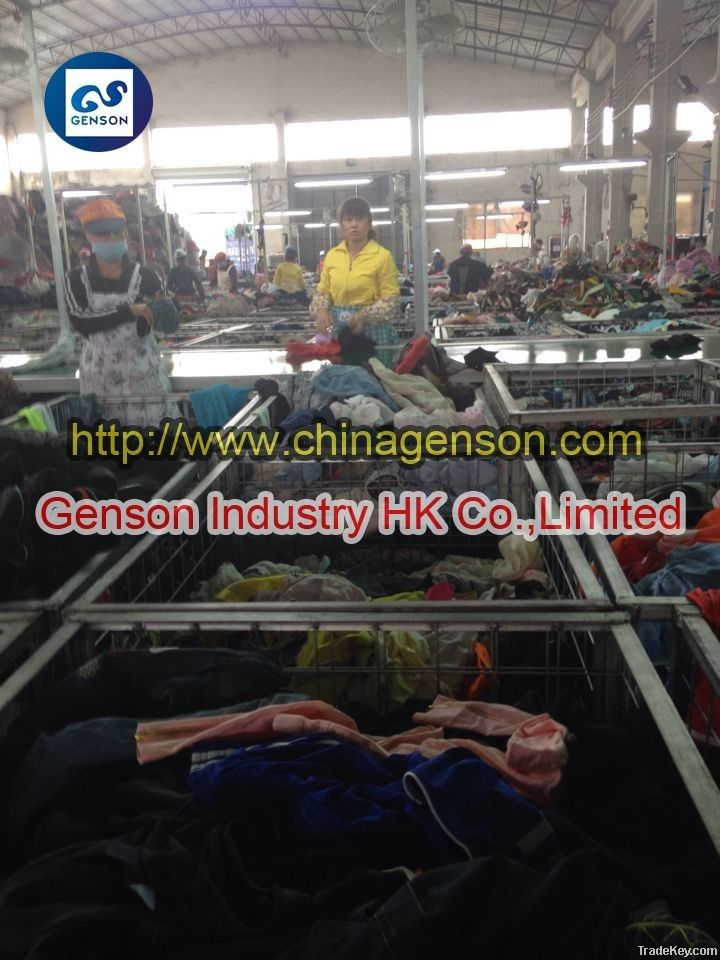 USED CLOTHES STOCK CLOTHES CLEAN NO TORN