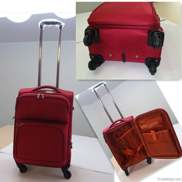 EVA 4 wheels spinner fashion trolley luggage set