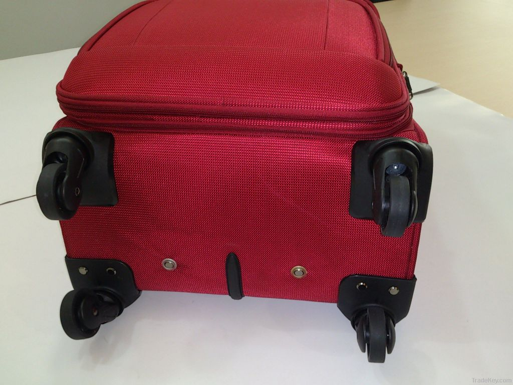 EVA 4 wheels spinner fashion trolley luggage set
