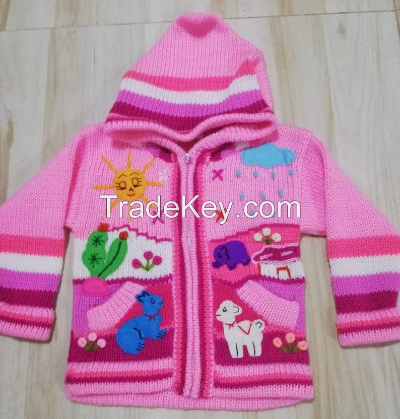Arpillera Children Jacket