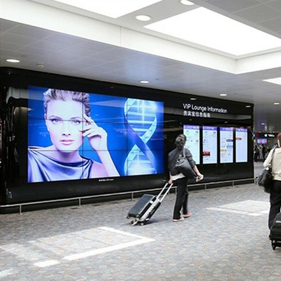 P4 SMD indoor led display in airport