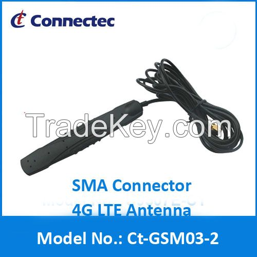 High Quality Sma Antenna 4G LTE SMA Male Rubber antenna Ct-GSM03-2