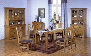 Dining Room Sets Solid Oke Antique