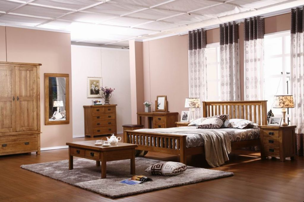Bedroom Sets Solid Oke Antique