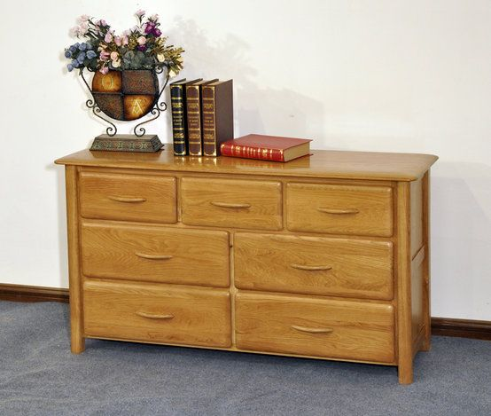 7 Drawers Wide Cabinet