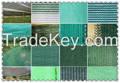 100% HDPE Green Sunshade net