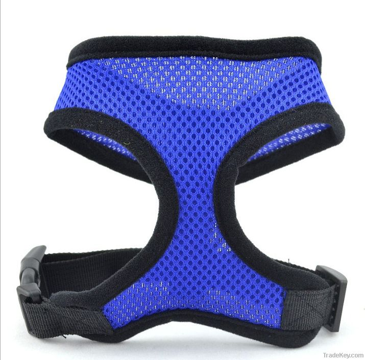 Non Pull Soft Mesh Padded Adjustable Puppy Pet Dog Harnesses All Sizes