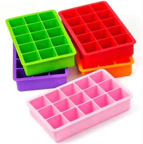 8 Cavity Silicone Jumbo Ice Cube Tray