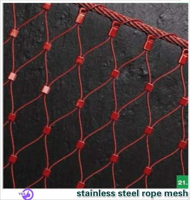 Stainless Steel Rope Mesh/Architectural Mesh Made inchina