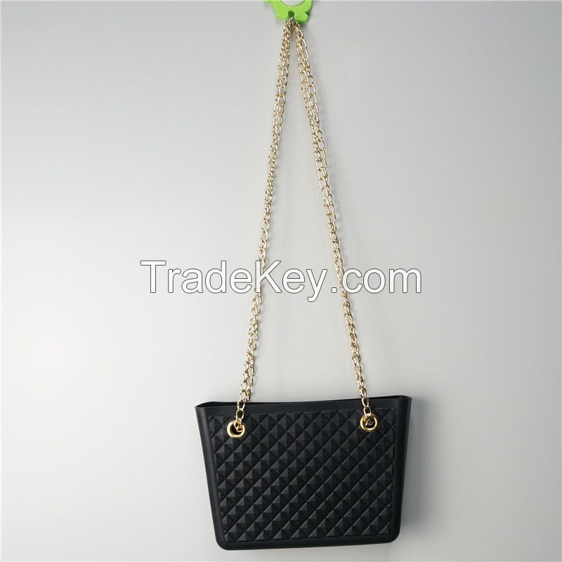 New and Hot 2014 silicone leisure sand seaside lady bag