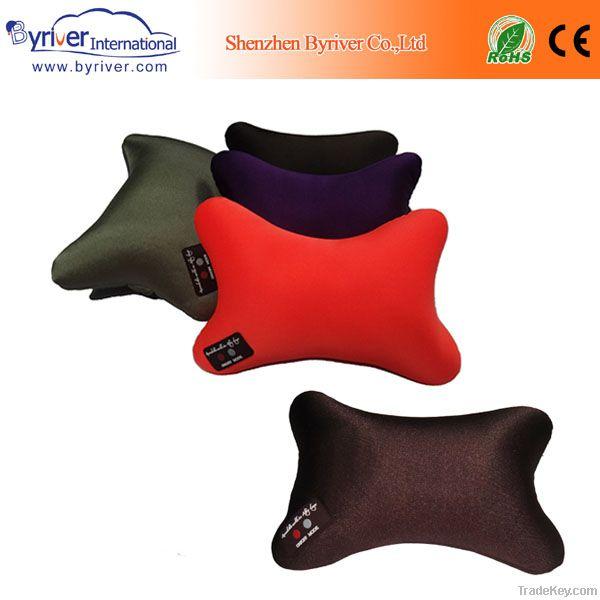wholesale bone shape car/home/hotel/travel massage pillows