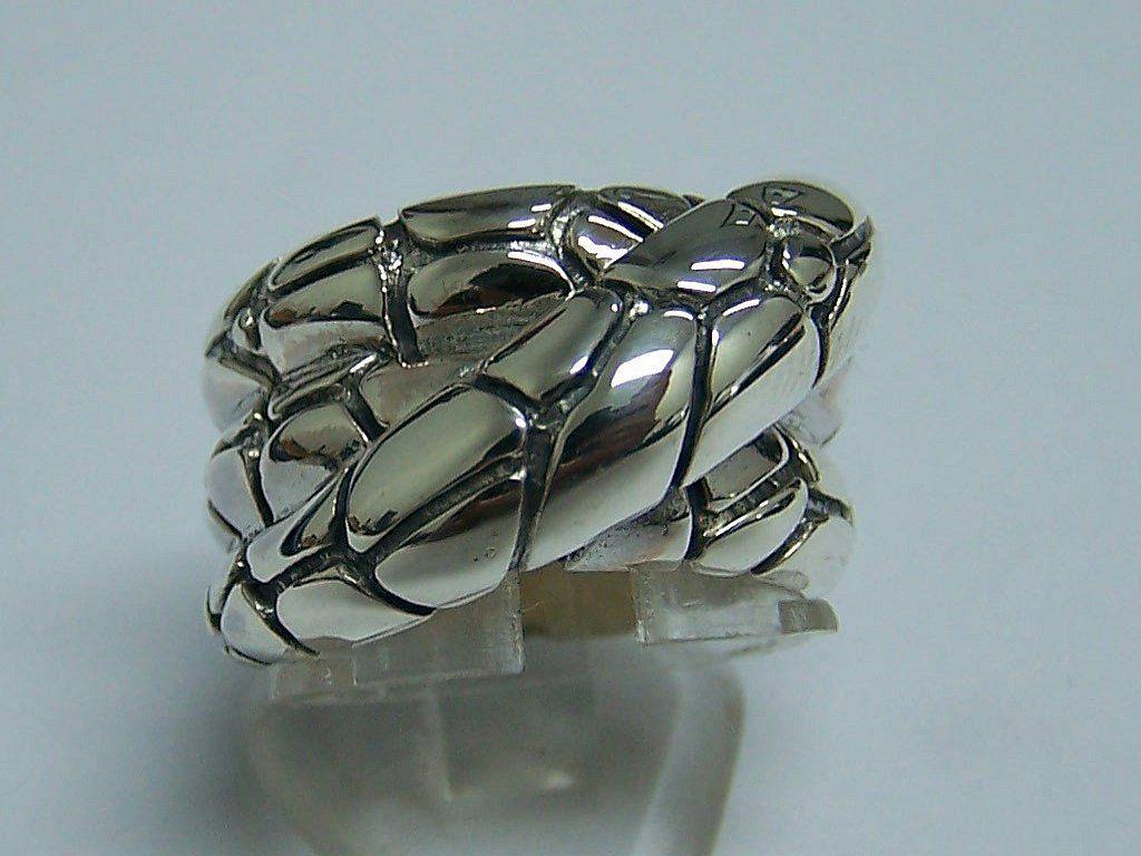 sterling silver designer inspired ring