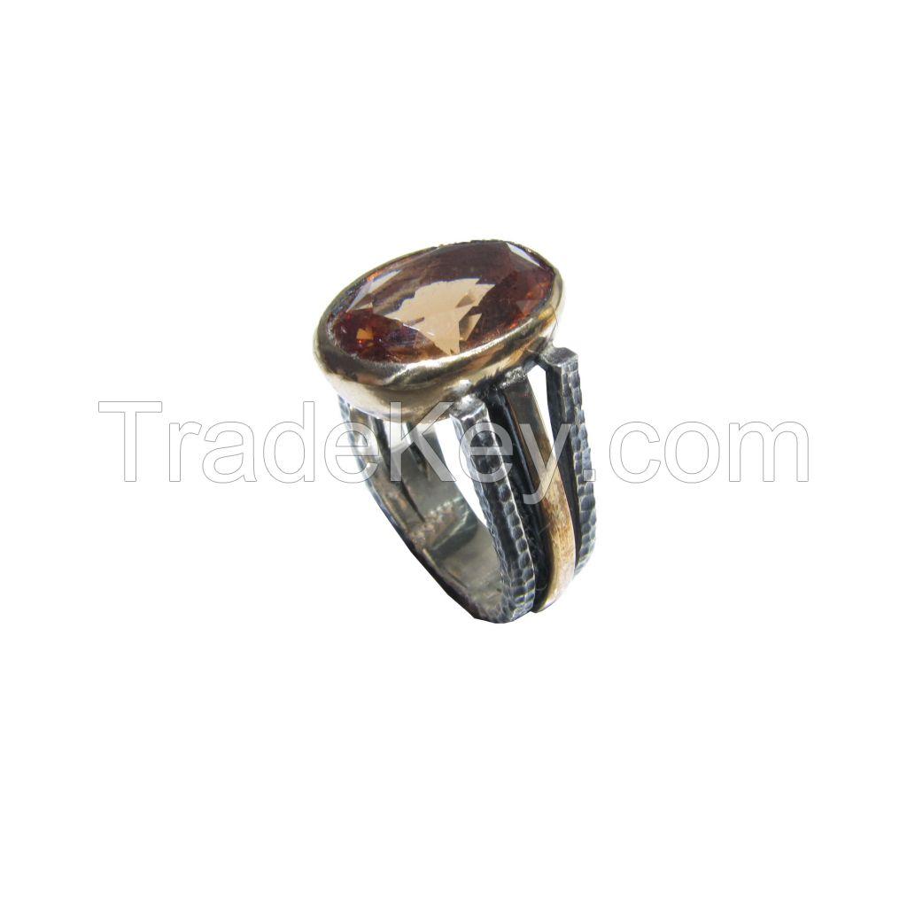 Zultanite Gemstone Silver Ring